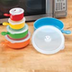 Microwavable Bowl With Ventilation Lid - Set Of 5