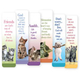 Cat Bookmarks - Set Of 12