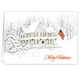 Patriotic Home Christmas Card Set of 20