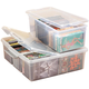 Stacking Media Storage Boxes, Clear