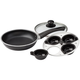Frying Pan With Egg Poacher Insert