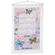 Personalized Butterfly Garden Calendar Towel