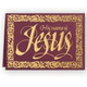 His Name is Jesus Embossed Christmas Card - Set of 20