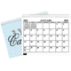 3 Year Monthly Planner, White