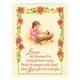 Poinsettia Legend Christmas Card - Set Of 20
