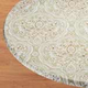 Victorian Elasticized Table Cover