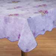 Purple Wave Edge Table Cover