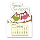 Owl Mini Magnetic Calendar