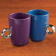 Friendship Mug with Ring Handle, Set of 2
