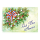 Patriotic Blessings Christmas Card Set of 20