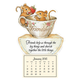 Friendship Mice Mini Magnetic Calendar