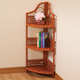 Wicker Corner Storage