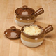 Ceramic Soup Crocks With Lids - Set Of 2
