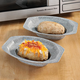 Potato Bakers - Set of 2 White