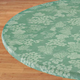 Grapes Vinyl Elasticized Table Cover