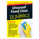 Unusual Food Uses Refrigerator Magnet Book For Dummies