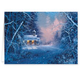 Woodland Chapel Christmas Card - Set Of 20