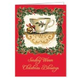 Sandy Clough Teacup Poem Christmas Card - Set of 20