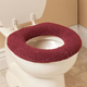 Sherpa Toilet Seat Cover by OakRidge Comforts