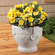 Grape Pattern Urn Planter