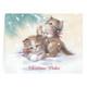 Kitten Christmas Card Set of 20