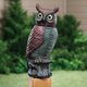 Owl Pest Control - Sensor Owl, Brown