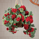 Artificial Geranium Hanging Bush