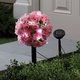 Solar Garden Stake - Rose Topiary