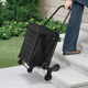 Waterproof Rolling Shopping Cart Liner With Handles