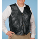 Patch Leather Vest
