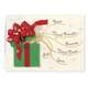 Gift Of Friendship Christmas Card - Set Of 20