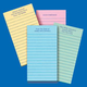 Personalized Memo Pads