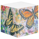 Designer Large Sticky Notecube, Multicolor