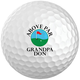 Personalized Golf Balls - Set of 6, White