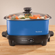 West Bend Slow Cooker & Tote - Blue