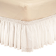 White Eyelet Bed Ruffle
