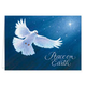 Dove of Peace Religious Verse Christmas Card Set of 20