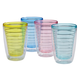 Insulated Tumblers Set Of 4, Multicolor