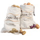Sprout-free Vegetable Bags, Beige