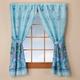 Oceanic Bathroom Window Curtain