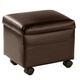 Flip Top Storage Ottoman by OakRidge Accents