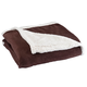 Ultra Plush Microfiber Sherpa Throw by OakRidge 50