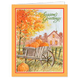 Autumn Greetings Card Plain