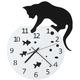 Fish Bowl Cat Clock