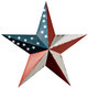 American Barn Star by Maple Lane Creations, Multicolor