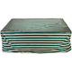 Deluxe Rectangular Table Set Cover, Green