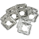 Foil Square Gas Burner Liners - Set Of 10