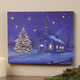 Lighted Church Canvas