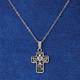 Silver Communion Cross Necklace
