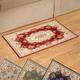 Chenille Rose Tapestry Rug